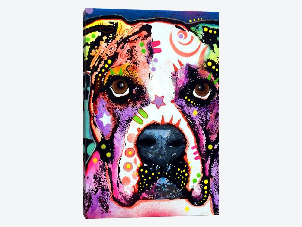 American Bulldog I by Dean Russo 1-piece Canvas Wall Art