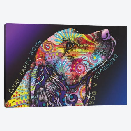 Every Happy Home Canvas Print #DRO703} by Dean Russo Canvas Art