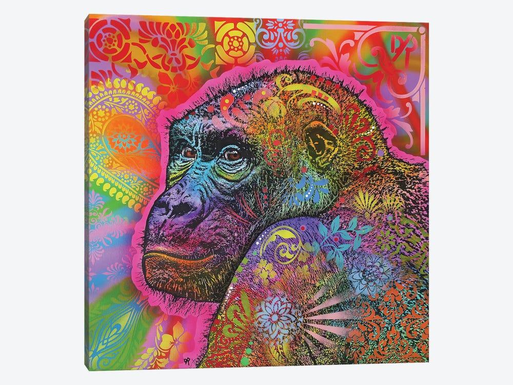 Gorilla by Dean Russo 1-piece Canvas Artwork