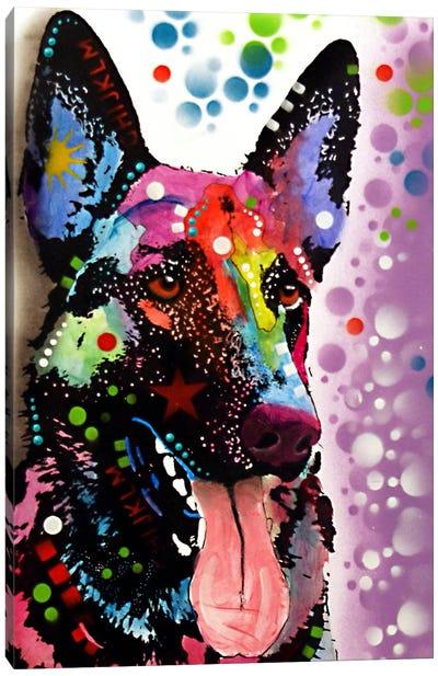 German Shepherd Canvas Print #DRO70