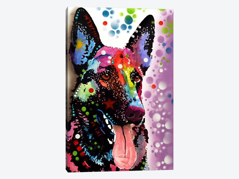 German Shepherd by Dean Russo 1-piece Canvas Artwork
