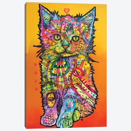 Love Kitten Canvas Print #DRO712} by Dean Russo Canvas Print