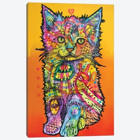 Love Kitten Canvas Print #DRO712} by Dean Russo Canvas Print