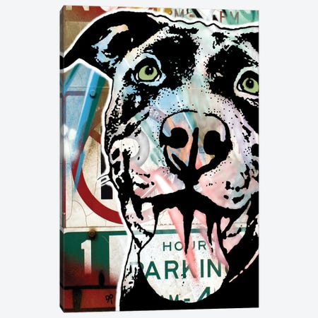 MS Understood NO PARKING Canvas Print #DRO716} by Dean Russo Canvas Artwork