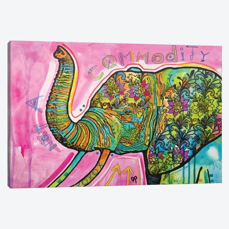 Not A Commodity Canvas Print #DRO717} by Dean Russo Canvas Artwork