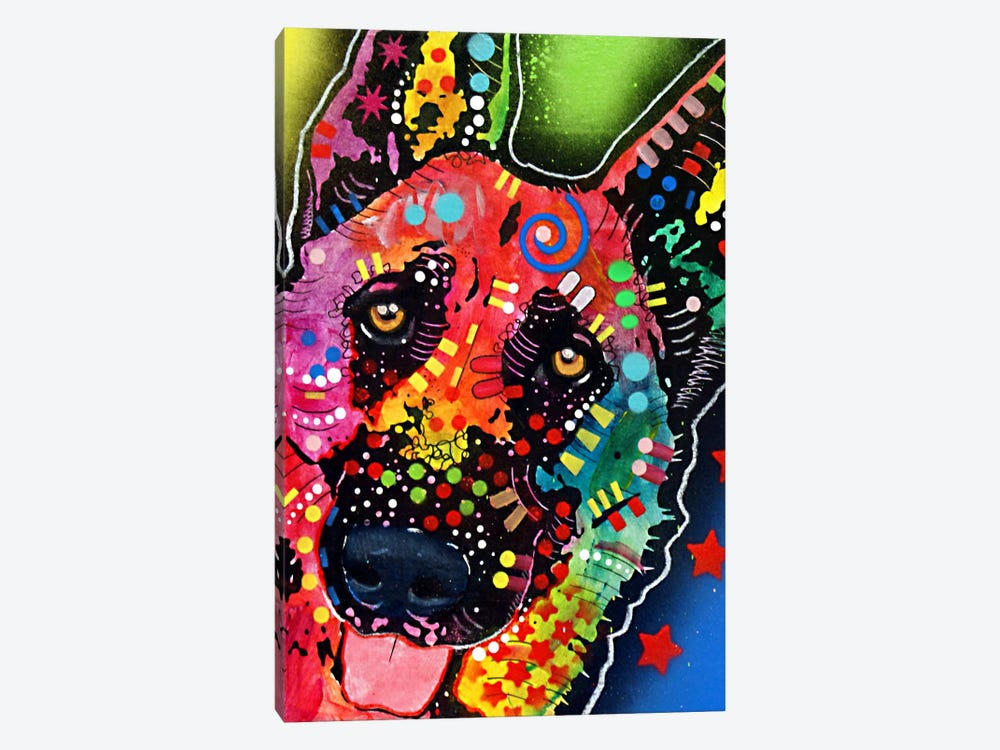 Jackson by Dean Russo 1-piece Canvas Art Print