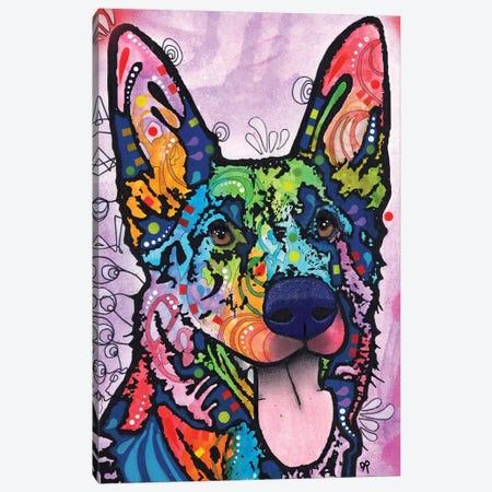 Shepherd Love Canvas Print #DRO721} by Dean Russo Canvas Artwork