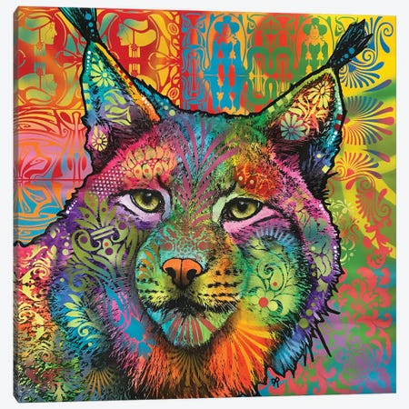 The Lynx Canvas Print #DRO727} by Dean Russo Canvas Art Print