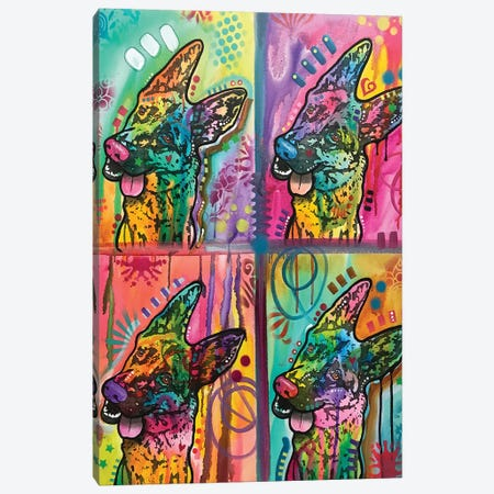 4 Shepherds 3-Piece Canvas #DRO729} by Dean Russo Canvas Wall Art