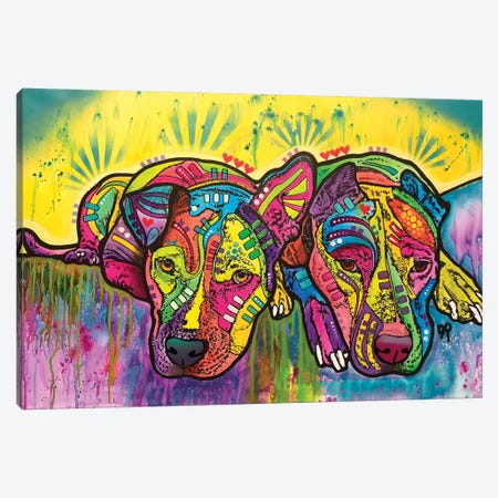 Dofka And Stella Canvas Print #DRO739} by Dean Russo Canvas Art Print