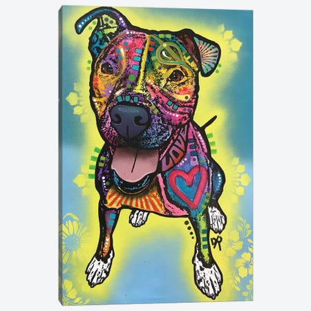 Ellie Canvas Print #DRO740} by Dean Russo Canvas Artwork