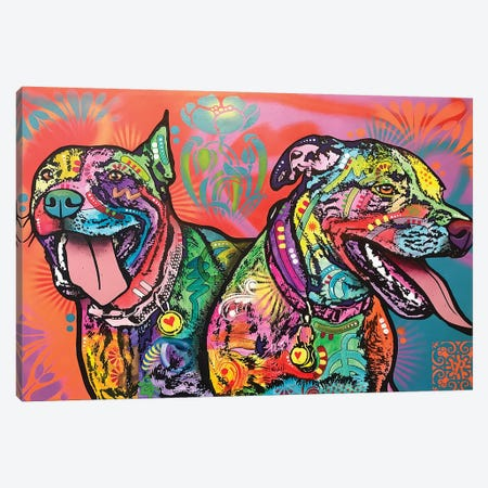 Double The Fun Canvas Print #DRO774} by Dean Russo Canvas Artwork
