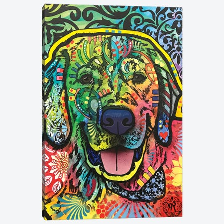 Mikey Canvas Print #DRO778} by Dean Russo Art Print