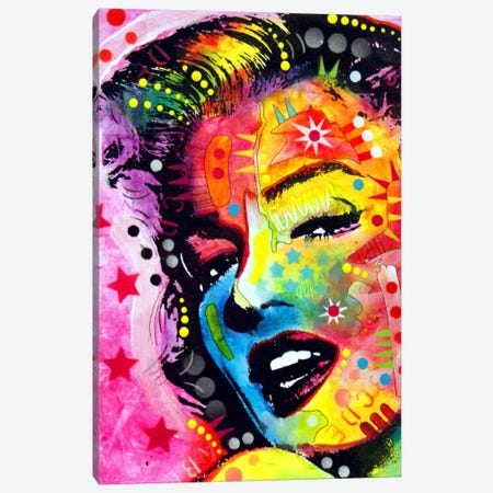 Marilyn II Canvas Print #DRO77} by Dean Russo Canvas Art