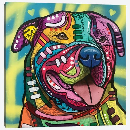 Howard Canvas Print #DRO804} by Dean Russo Canvas Artwork