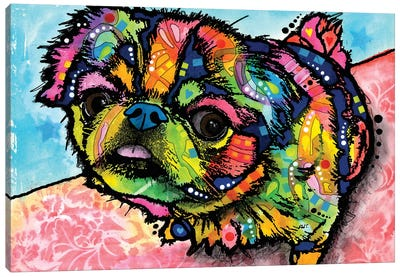 Missey Canvas Art Print