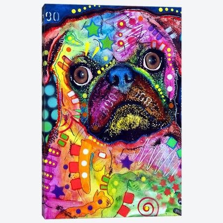Pug 92309 Canvas Print #DRO83} by Dean Russo Canvas Art