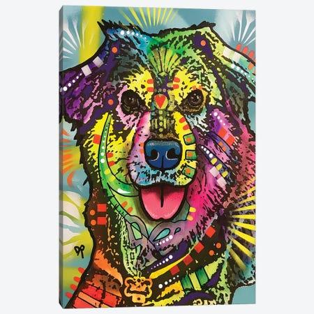 Shep Canvas Print #DRO841} by Dean Russo Canvas Art Print