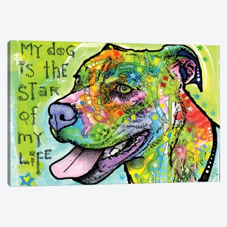 The Star of My Life Canvas Print #DRO852} by Dean Russo Canvas Artwork