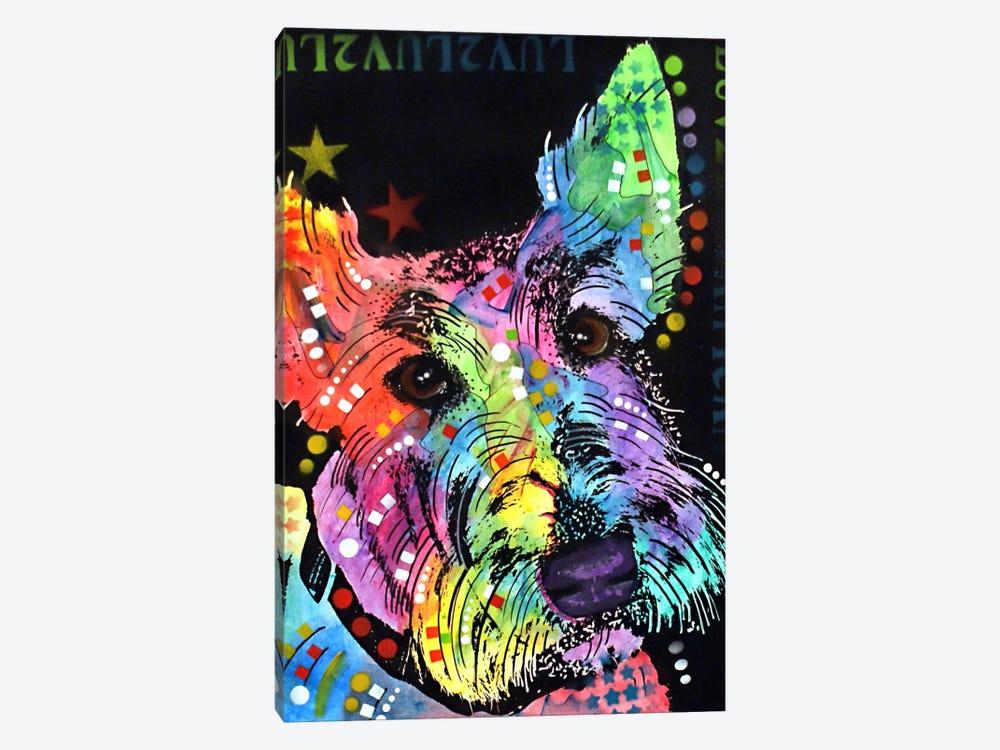 Scottish Terrier by Dean Russo 1-piece Canvas Artwork