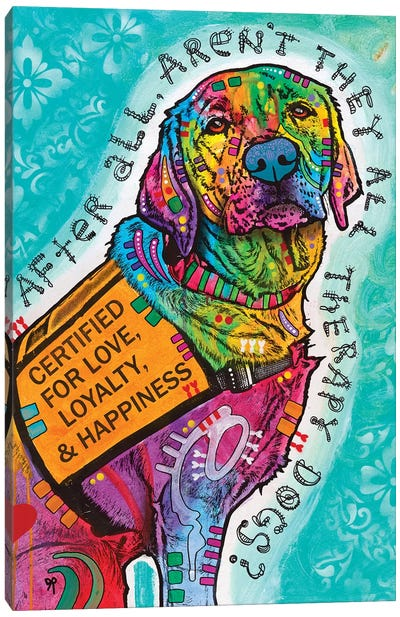 Certified For Love Canvas Art Print