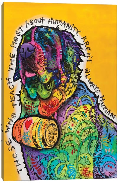 Humanity Canvas Art Print