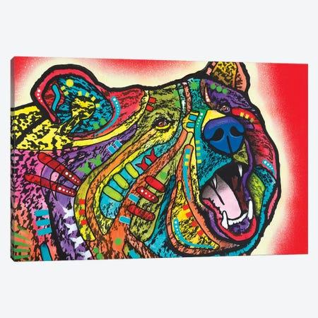 Roaring Bear Canvas Print #DRO877} by Dean Russo Canvas Art Print
