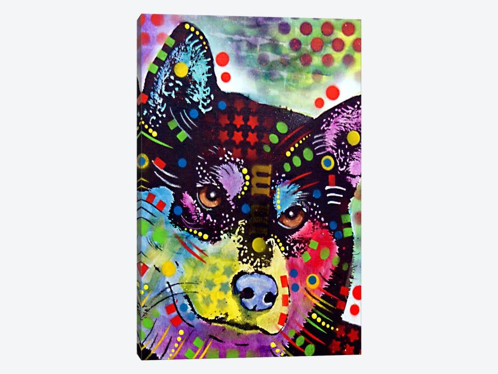 Shiba Inu by Dean Russo 1-piece Canvas Art