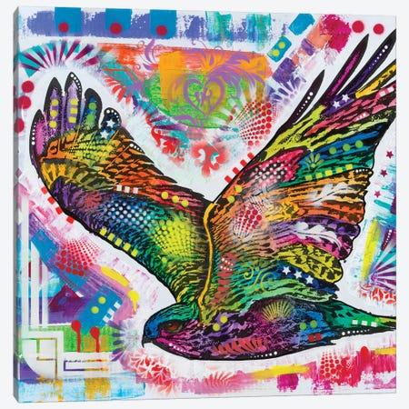 Hawk Canvas Print #DRO881} by Dean Russo Art Print