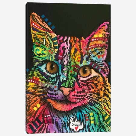 Dawes The Cat Canvas Print #DRO882} by Dean Russo Canvas Print