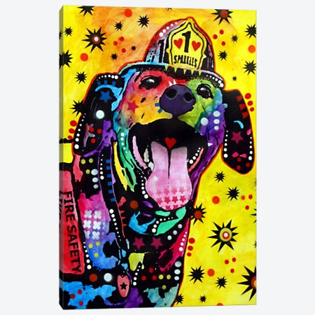 Sparkles Canvas Print #DRO88} by Dean Russo Canvas Wall Art