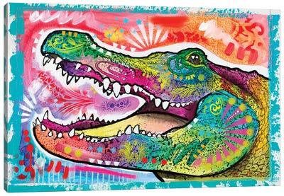 Alligator 3 Canvas Art Print