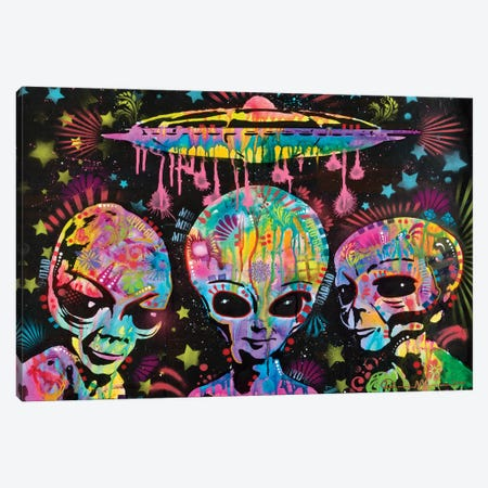 Aliens Canvas Print #DRO894} by Dean Russo Art Print