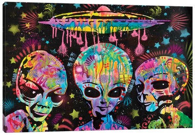 Aliens Canvas Art Print