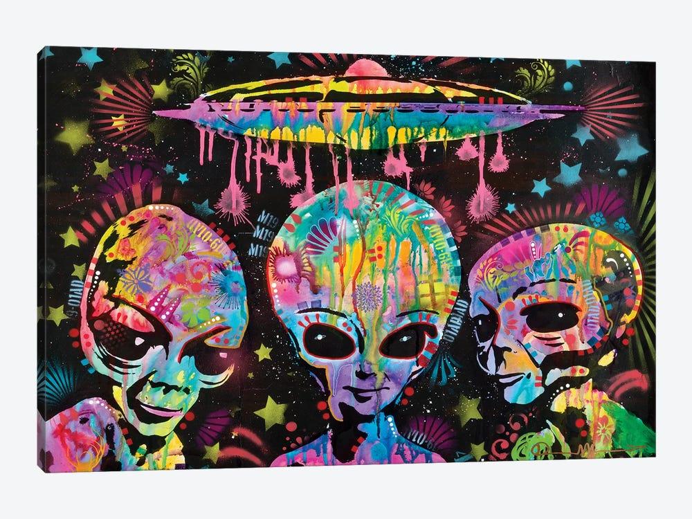 Aliens by Dean Russo 1-piece Canvas Print