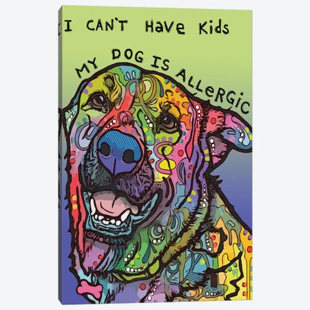 Allergic 3-Piece Canvas #DRO901} by Dean Russo Canvas Artwork