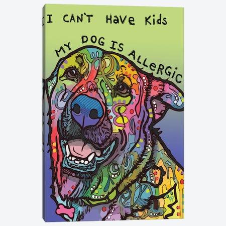 Allergic Canvas Print #DRO901} by Dean Russo Canvas Artwork