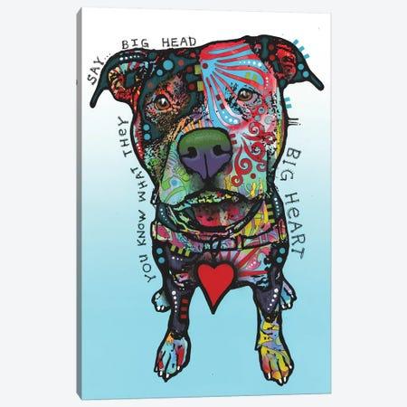 Big Heart Canvas Print #DRO906} by Dean Russo Canvas Print