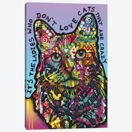 Crazylady Canvas Print #DRO913} by Dean Russo Canvas Print