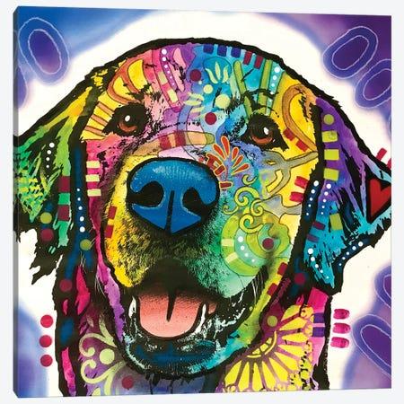 Heartfelt Retriever Canvas Print #DRO928} by Dean Russo Canvas Art