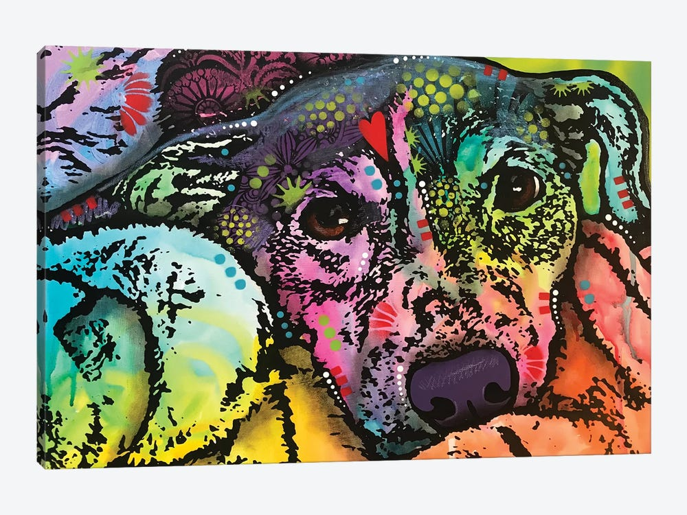 Snuggle by Dean Russo 1-piece Canvas Print