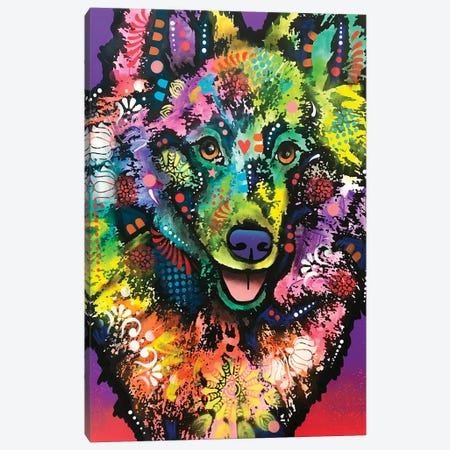 Good Boy Canvas Print #DRO934} by Dean Russo Canvas Wall Art