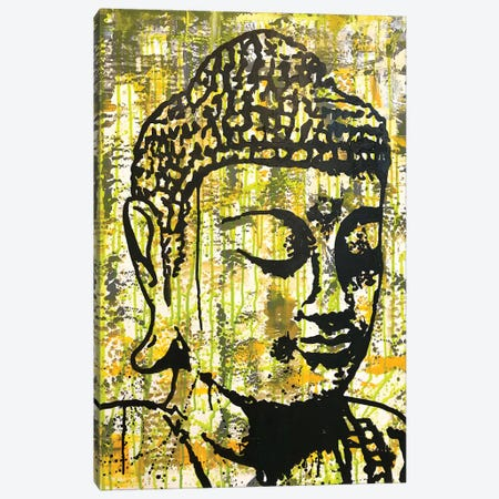Buddha - Yellow Canvas Print #DRO939} by Dean Russo Art Print
