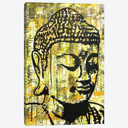 Buddha - Yellow Canvas Print #DRO939} by Dean Russo Art Print