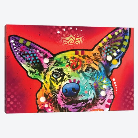 All Ears Canvas Print #DRO941} by Dean Russo Canvas Art