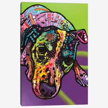Indelible Jack 3-Piece Canvas #DRO947} by Dean Russo Canvas Print