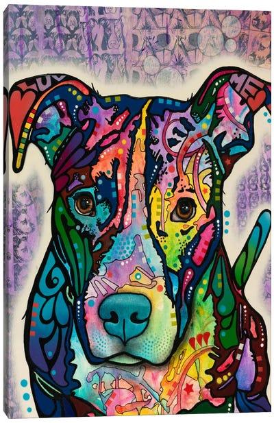 Luv Me Canvas Art Print