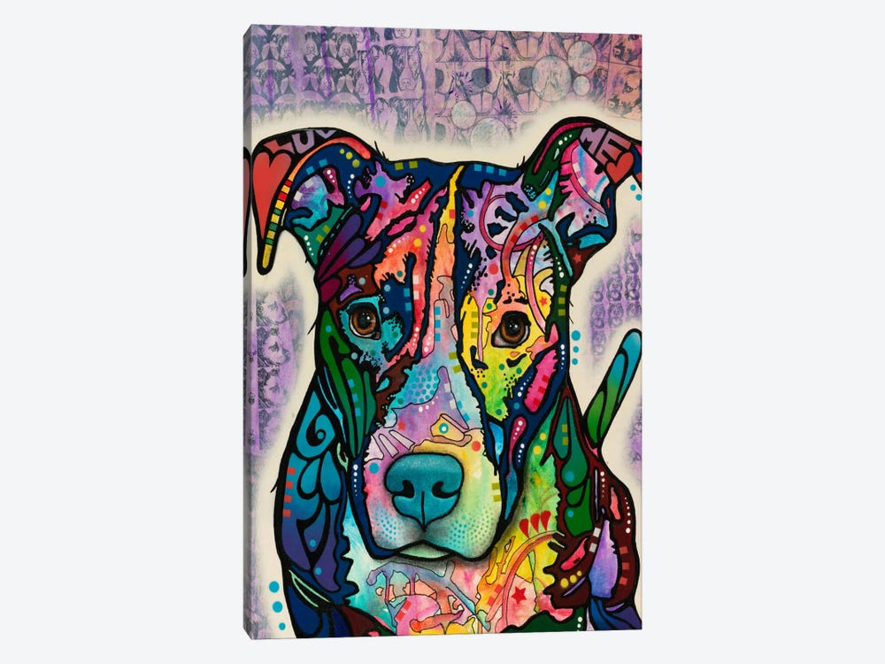 Luv Me by Dean Russo 1-piece Canvas Art