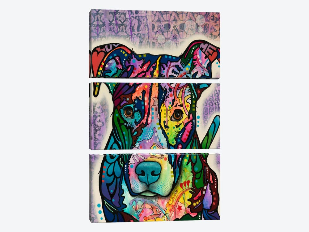 Luv Me by Dean Russo 3-piece Canvas Art