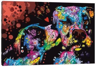 It's Just Puppy Love Canvas Art Print
